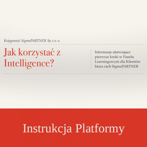 Instrukcja INTELLIGENCE